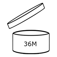 Symbol of an opened container
